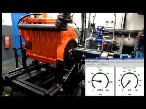 Prior Diesel - Detroit 6-71 Full load test