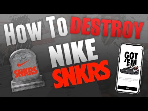 Nike SNKRS at AppGhost com