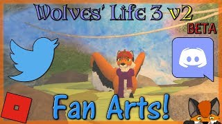 Roblox - Wolves' Life 3 v2 BETA - Fan Arts! #21 - HD