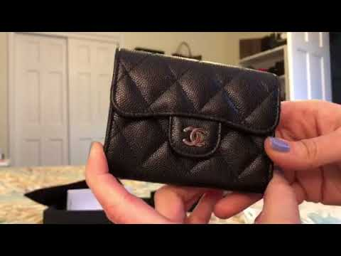 4a027badfffc1a Unboxing and reveal of my 18c Chanel SLG Iridescent Caviar! - YouTube