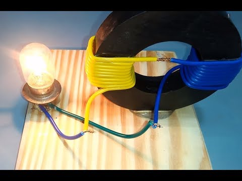 Электричество из магнита и проволоки своими руками