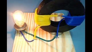 как сделать генератор из магнита