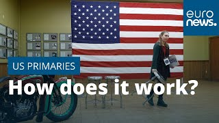 How do the US presidential election primaries work?