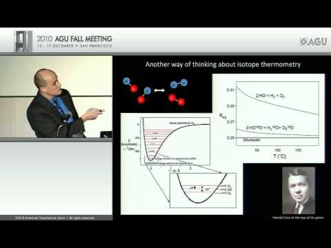 Sagan lecture: Isotope Geochemistry and the Study of Habitability and Life on Other Planets
