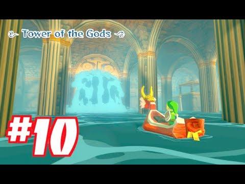 TOWER OF THE GODS!! WIND WAKER HD: Gameplay Walkthrough Part 10