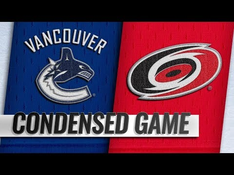 Vancouver Canucks vs Carolina Hurricanes – Oct.09, 2018 | Game Highlights | NHL 18/19 | Обзор матча