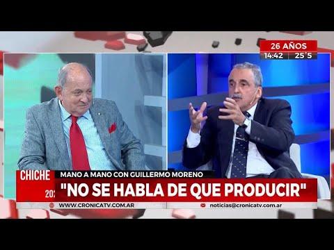 Guillermo Moreno Con Chiche Gelblung  Cronica TV  11/02/20