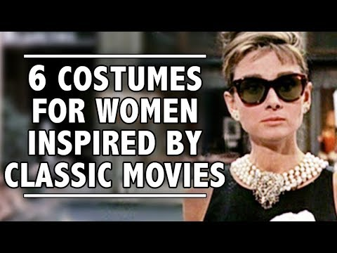 6 Costumes For Women Inspired By Classic Movies