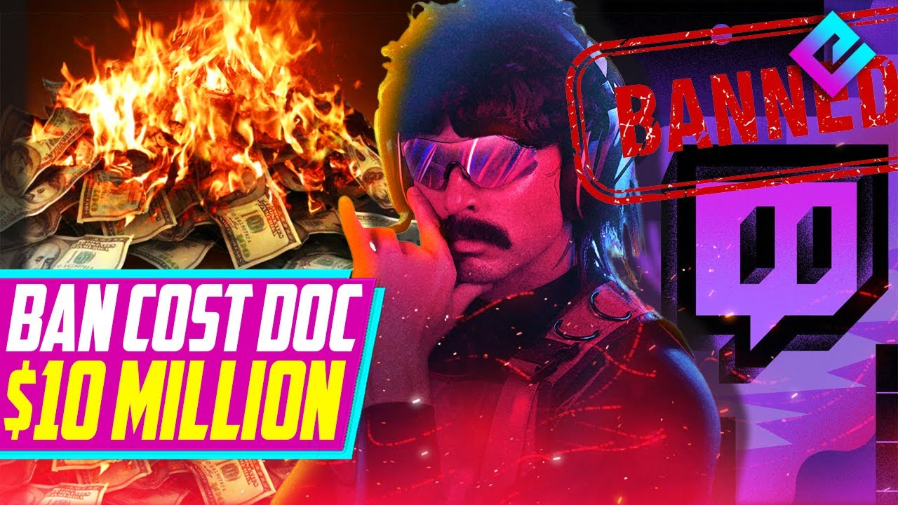 Dr Disrespect KNOWS Why He Was Banned, Cost Him 10+ Million Dollars