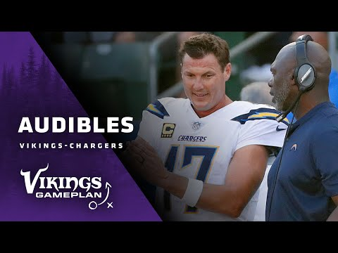 Audibles: Philip Rivers, Anthony Lynn Look Ahead To The Matchup Against The Minnesota Vikings