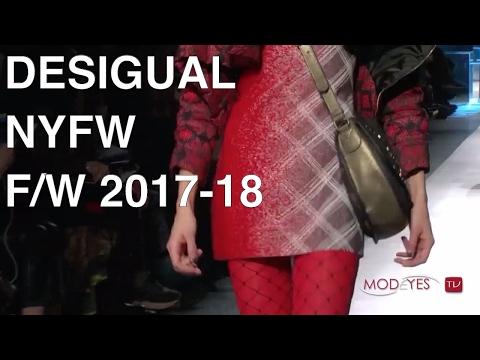 DESIGUAL   FALL / WINTER 2017-18   LIVE FASHION SHOW