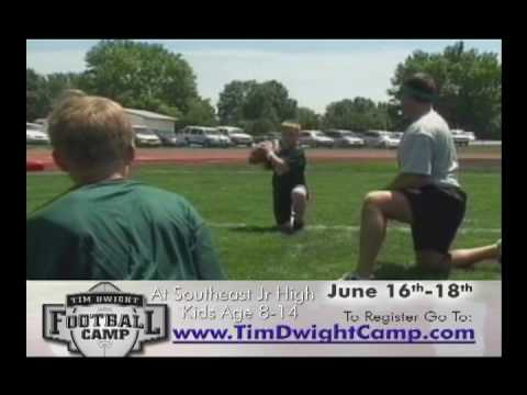 Tim Dwight Football Camp 2010