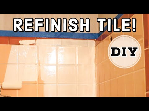 How To Refinish A Bathtub And Tile With Rustoleum Tub And Tile Kit