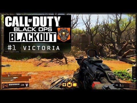 *4 VICTORIAS* EN BLACKOUT! - CALL OF DUTY BLACK OPS 4