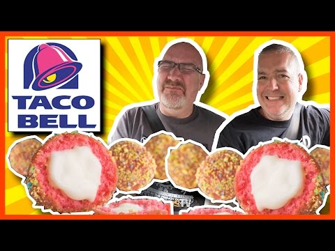 Taco Bell Cap'n Crunch™ Delights™ Review Special Guest Paul Merrimen