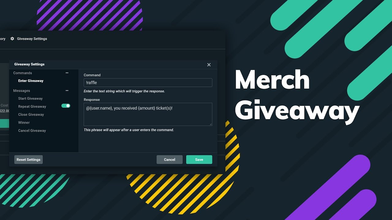 How to Set up and Run a Streamlabs Merch Giveaway
