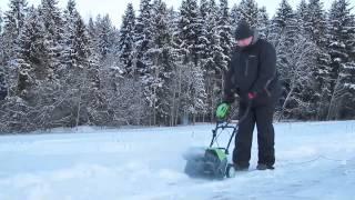 Электрические снегоуборщики Monferme смотреть