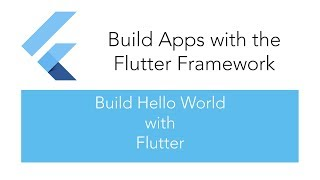 Learn Dart Programming - Build Hello World with Flutter