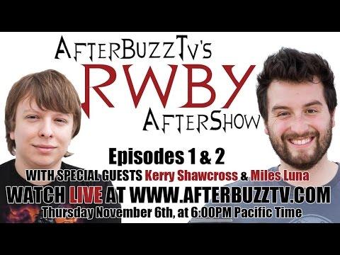 RWBY Season 3 Episodes 1 & 2 Review W/ Kerry Shawcross & Miles Luna | AfterBuzz TV