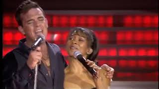 Robbie Williams&Katie Kissoon Live 2002 - Revolution