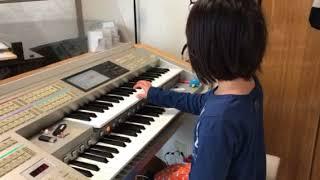 いぶきピアノ教室  エレクトーン リトミック Mちゃんの演奏 thumbnail
