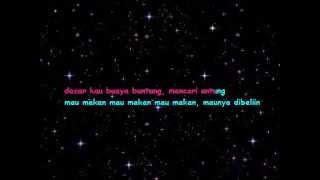 Karaoke dangdut Inul Daratista - buaya buntung (No Vocal + Lirik)