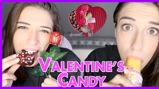 Trying Valentine's Day Candy & Treats