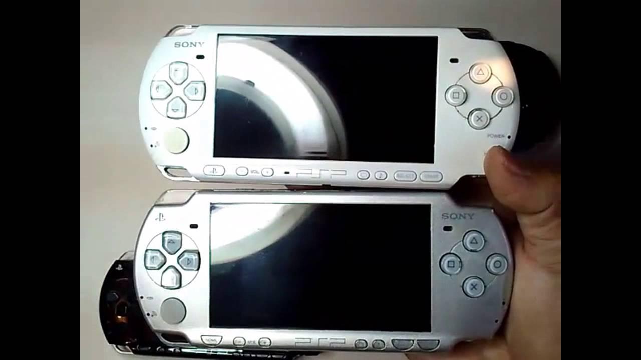 PSP 1000, 2000, 3000 Como Saber Diferencias y Año - YouTube