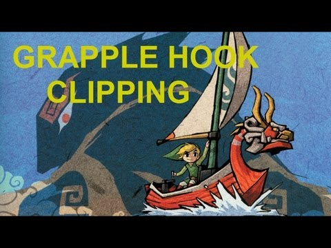 Wind Waker Trick Tutorials: Grapple Hook Clipping