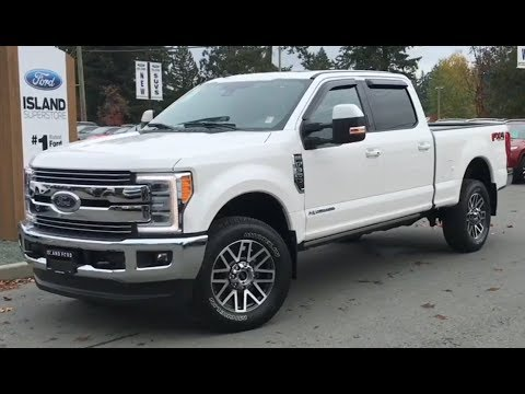 2019 Ford F-350 Lariat FX4 Ultimate Diesel V8 SuperCrew Review| Island Ford