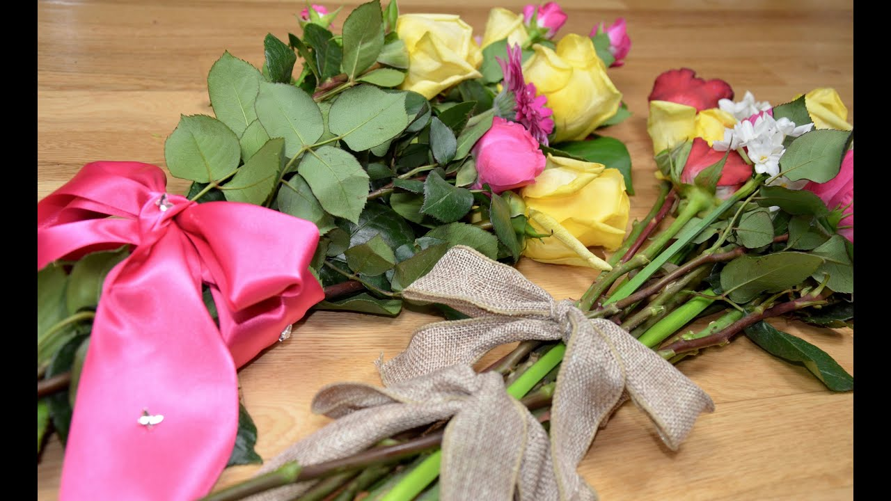 How To Make A Beautiful Bouquet Of Flowers For Mother S Day At Home