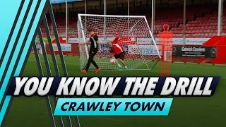 Bullard falls into the net! 😂 | You Know The Drill - Crawley Town with Jimmy Smith