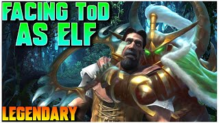 Grubby   WC3   [LEGENDARY] Fa¢ing ToD As ELF!