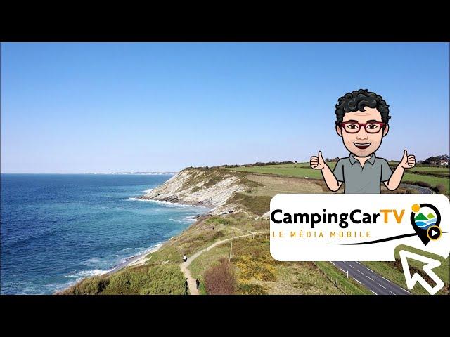 JT en camping-car N°126 - Promenade littorale et biarrote.