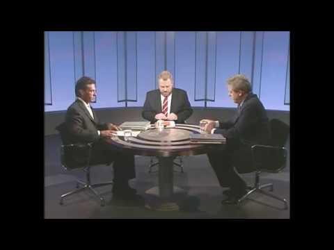 TV Duell Franz Vranitzky (SPÖ) vs Jörg Haider (FPÖ), ORF 21.9.1994