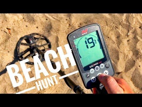 Minelab Equinox Saltwater Beach Hunt in Hawaii