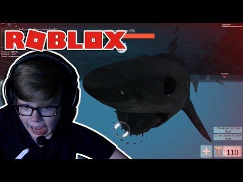 DON'T EAT MEH! Roblox SharkBite #1