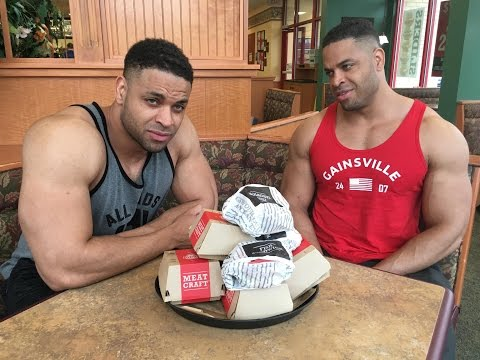 Arby's Eating Challenge @hodgetwins