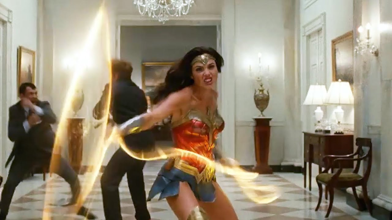 First 'Wonder Woman 1984' Trailer: Steve Trevor Is Somehow ...