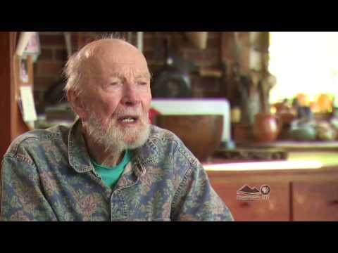 Pete Seeger talks about the loss of his wife