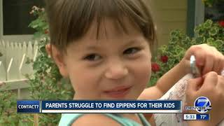 Parents struggling to find EpiPens for back-to-school with nationwide shortage