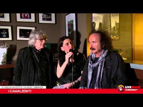 Le Video Interviste di Live Music Lombardia - I Camaleonti