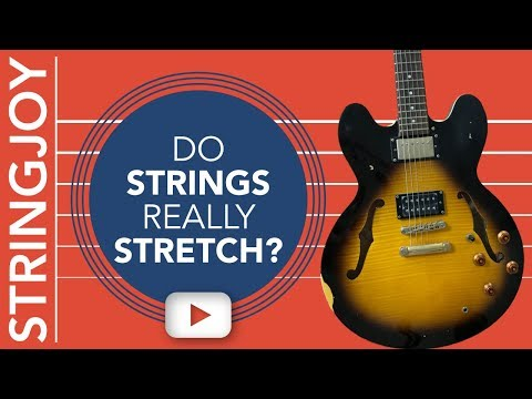 Is Stretching Guitar Strings a Myth?