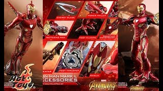 40+ Hot Toys you could get for the Mark 50 Accessories Pack