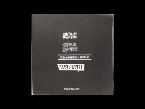 Cripple Bastards / Masskontroll / Capitalist Casualties / Warpath-4 way split 2x10'' [1995]