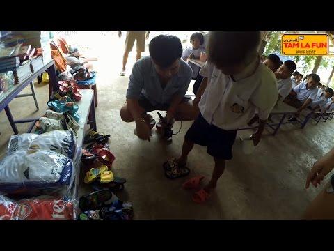 TAMLAFUN Mission 8 : ตามล่าฝัน มอบของบริจาค โรงเรียน ตชด.บ้านป่าหมาก ประจวบ