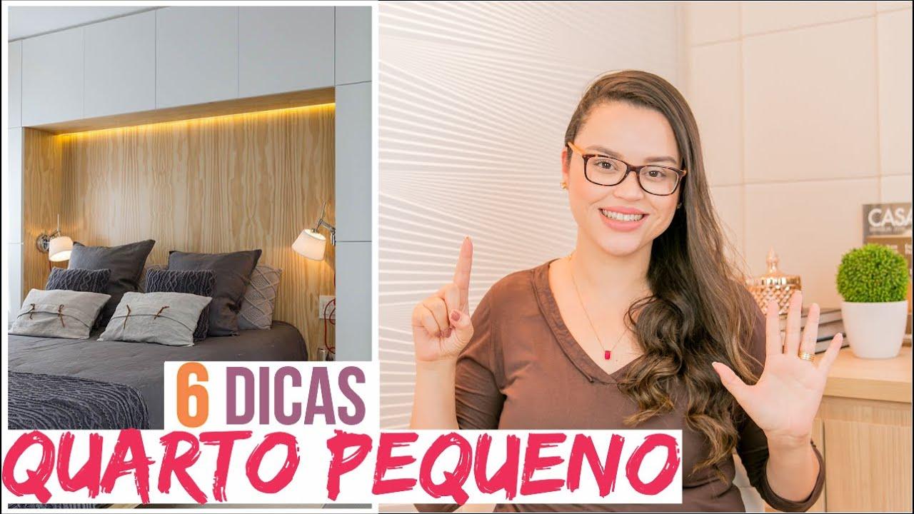 DICAS para QUARTO PEQUENO - Mariana Cabral