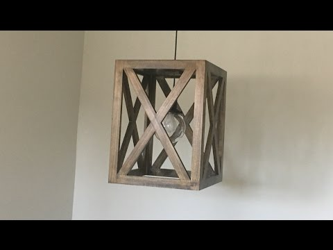 Wood Light Fixture - Kraftmade