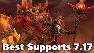 Best Supports Patch 7.17 Warlock Pro Gameplay