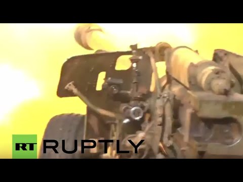 Syria: Government forces battle the al-Nusra Front near Kinsabba